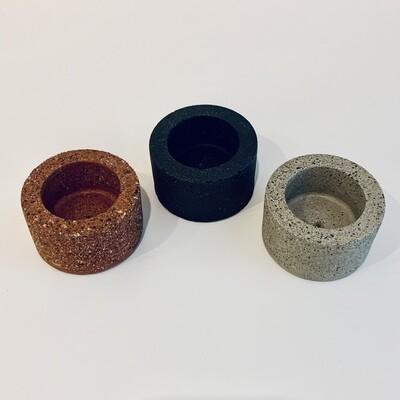 Concrete Incense Burner - TErawZZO Round