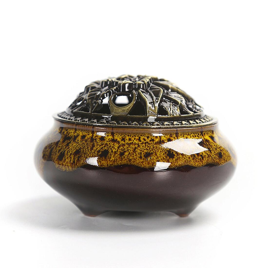 Beads IB Ceramic Brown