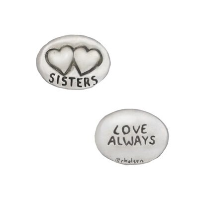 Chelsea Token 0051- Sister Two Hearts