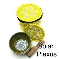 EE Chakra Silk Case Singing Bowl Solar Plexus