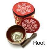 EE Chakra Silk Case Singing Bowl Root