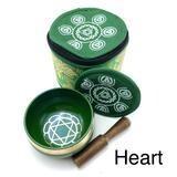 EE Chakra Silk Case Singing Bowl Heart