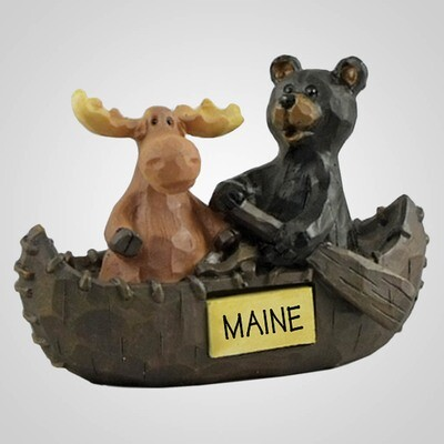 Lipco  Bear & Moose Canoe