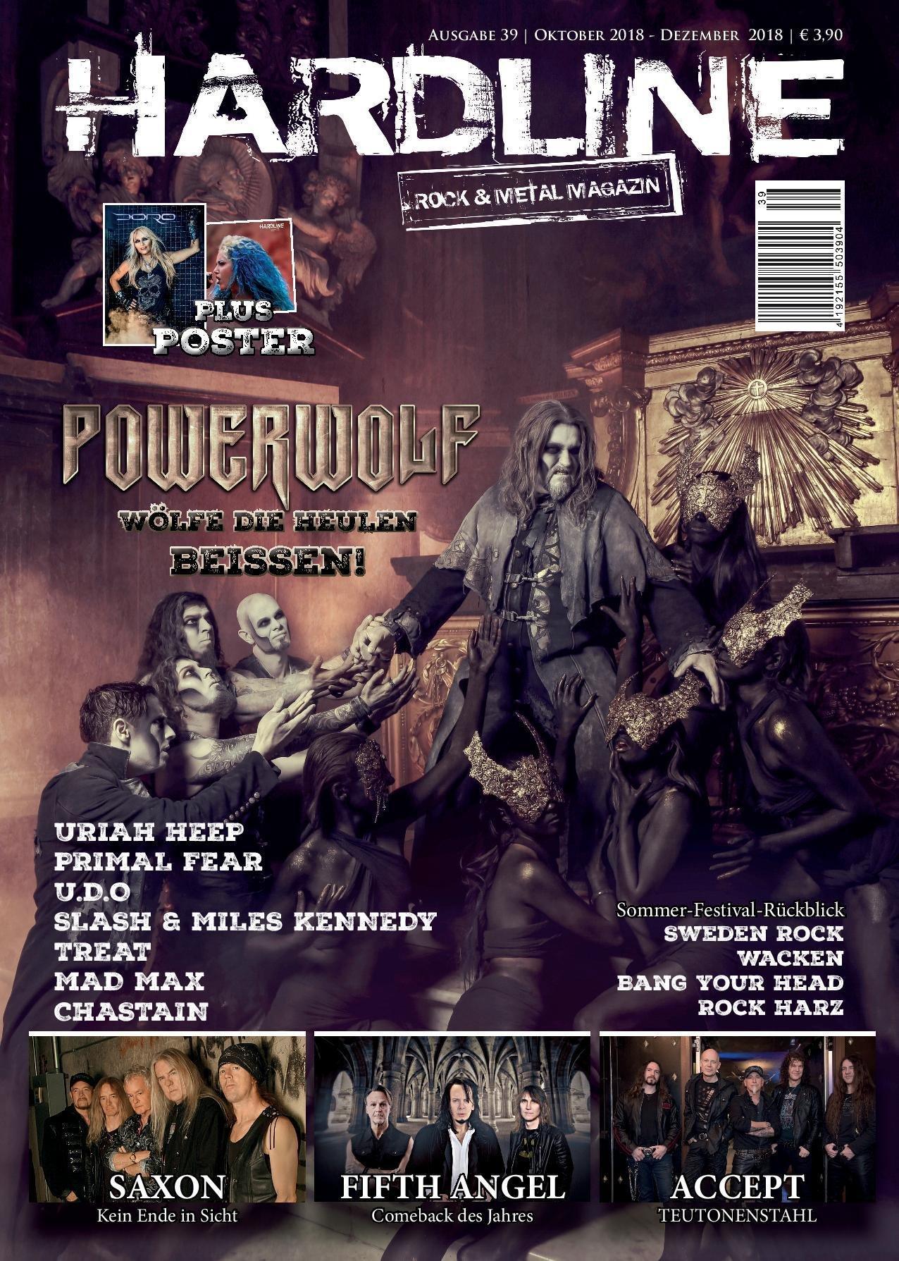 Hardline Magazin 6 Ausgaben Abo 0000001
