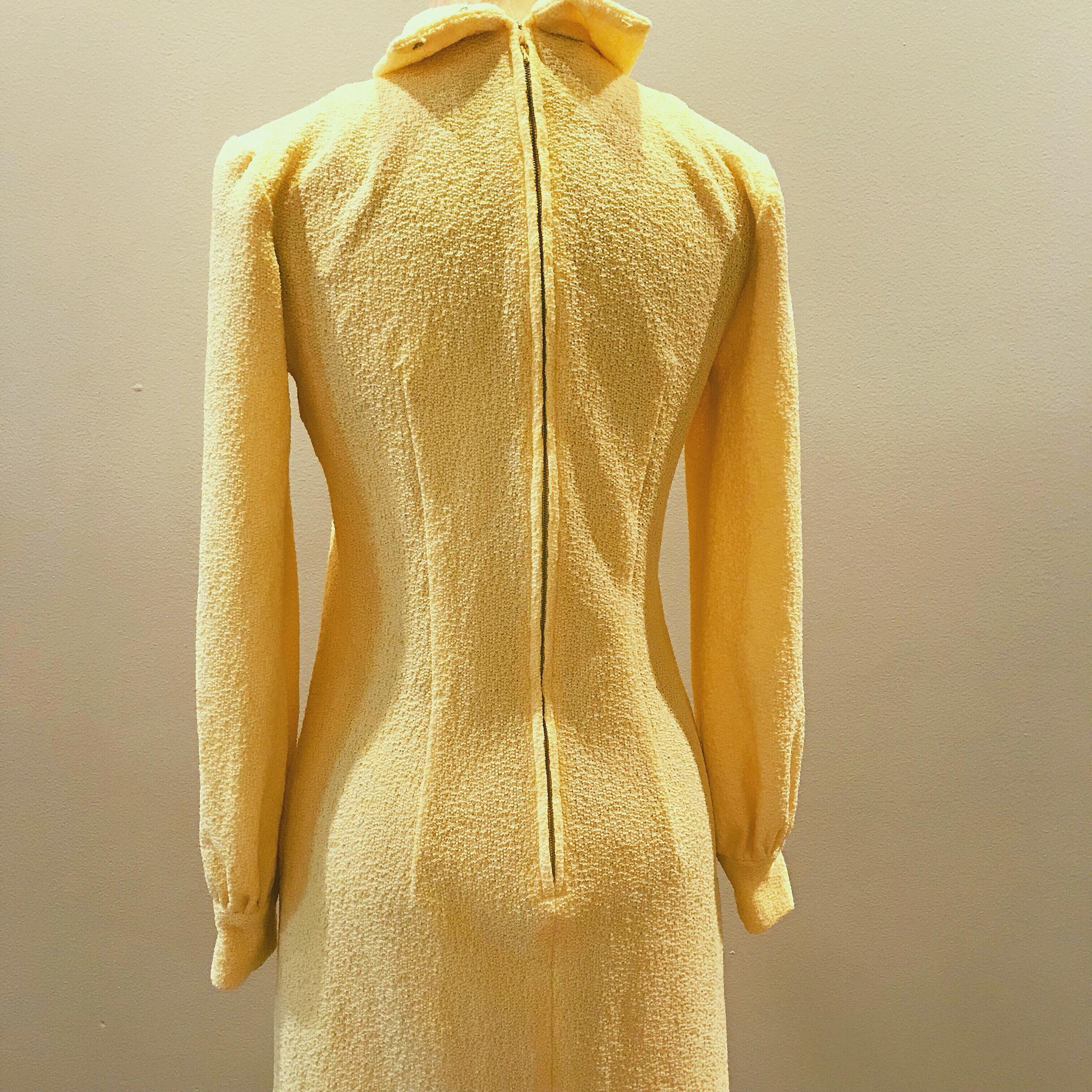 1960s Banana Shift Dress