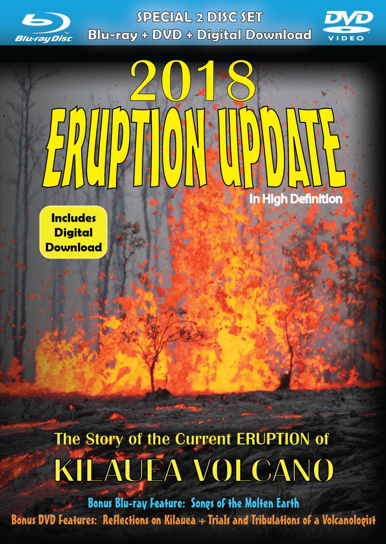 2018 Eruption Update DVD & BluRay