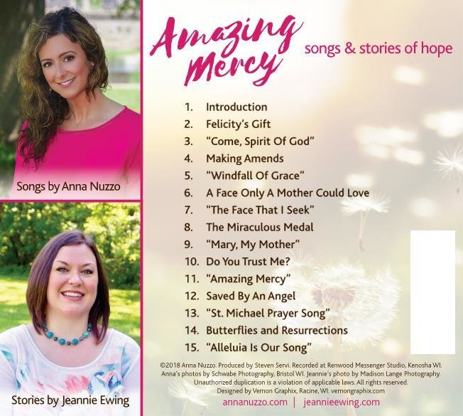 Amazing Mercy CD back cover