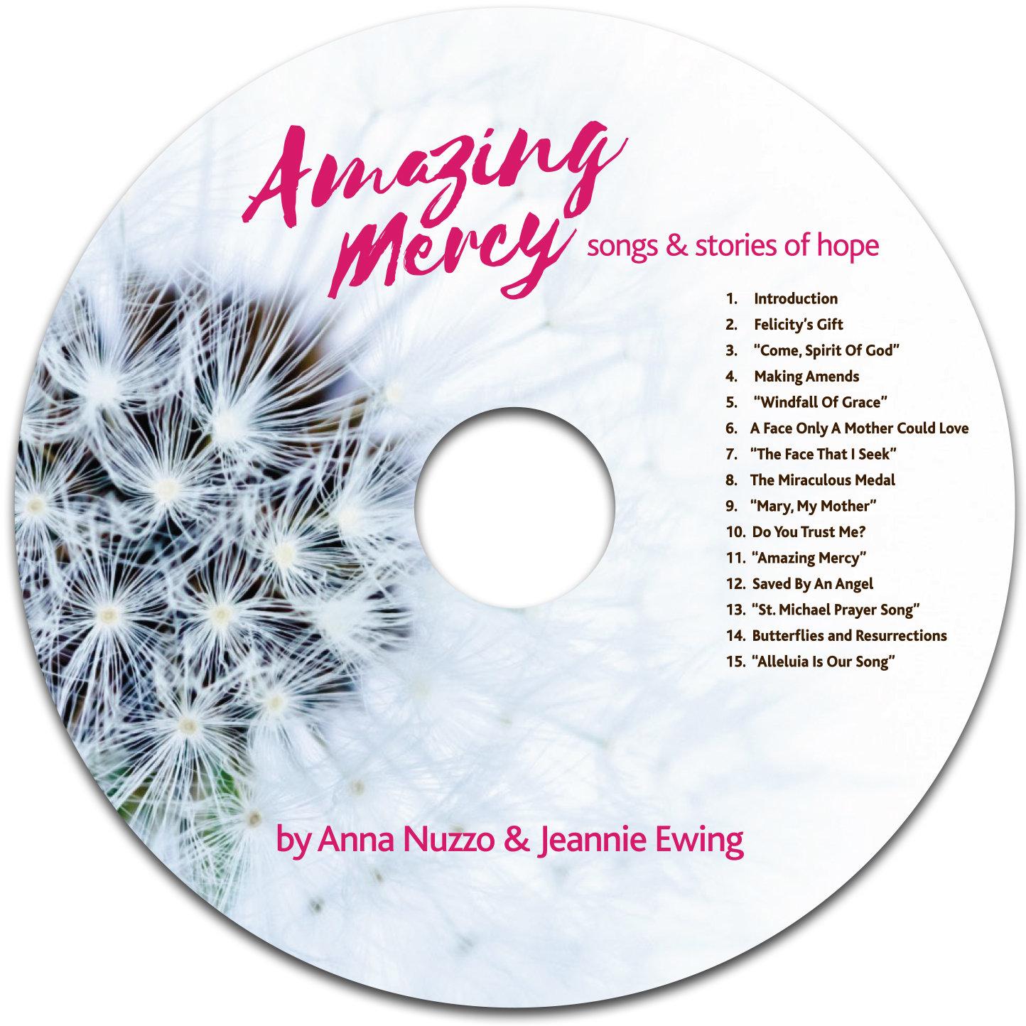 Amazing Mercy CD image