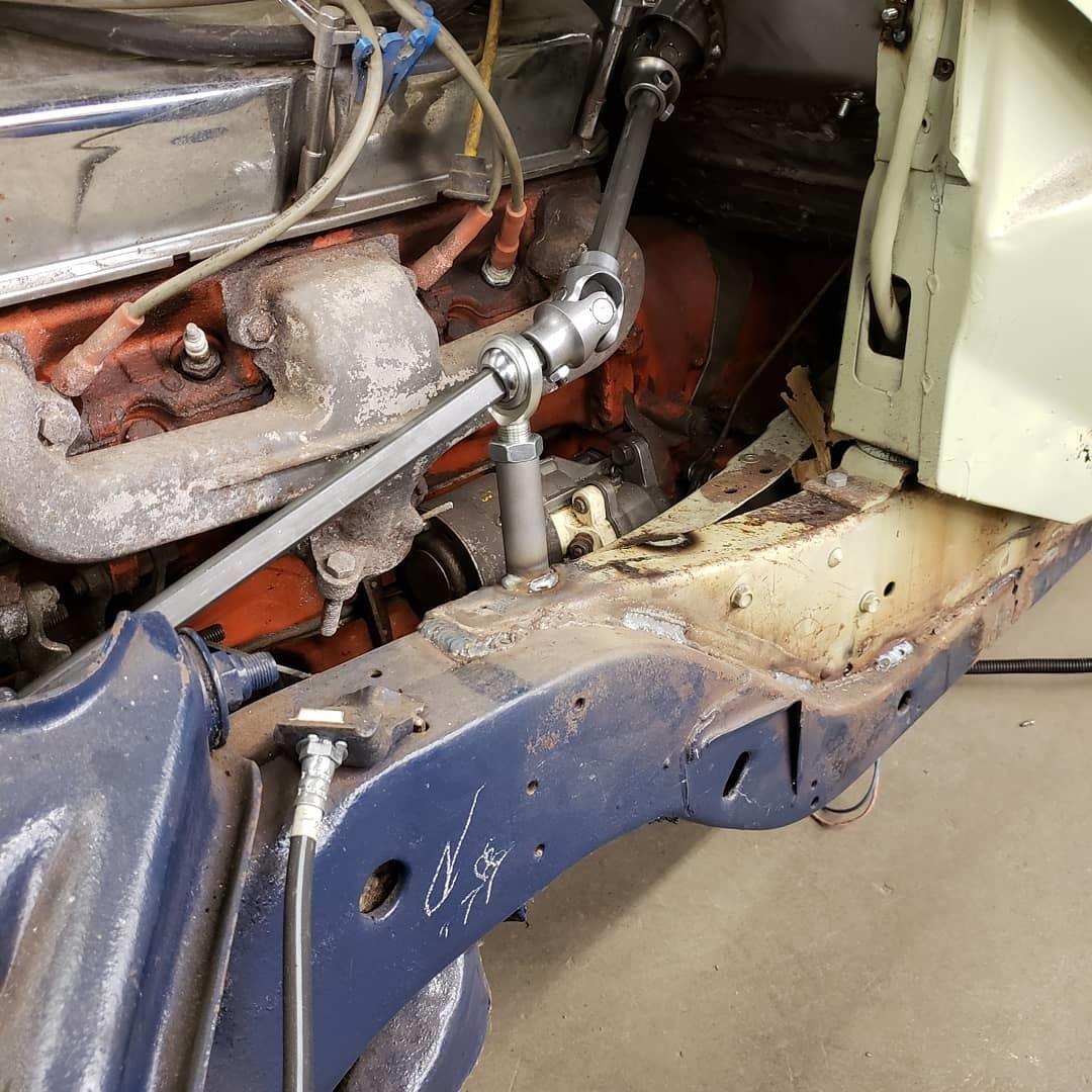 Steering Shaft Bearing Support Tube  U2013 Welder Series Inc