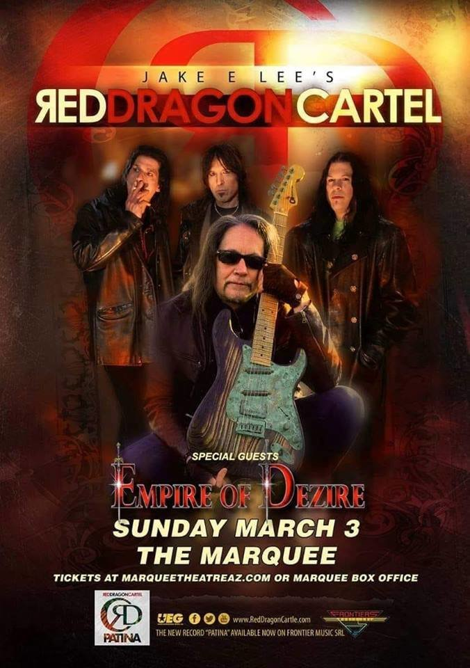 Empire of Dezire with Jake E. Lee's Red Dragon Cartel