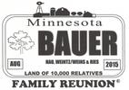 Bauer Family Reunion 2015