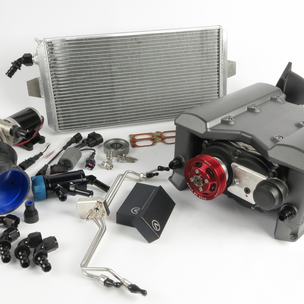 Twin Turbo Kit For Audi Rs4: AMD RS4 Supercharger Kit