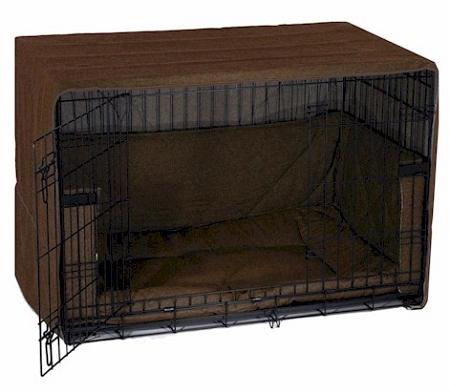Side Door Dog Crate Cover Mediumcoco Brown