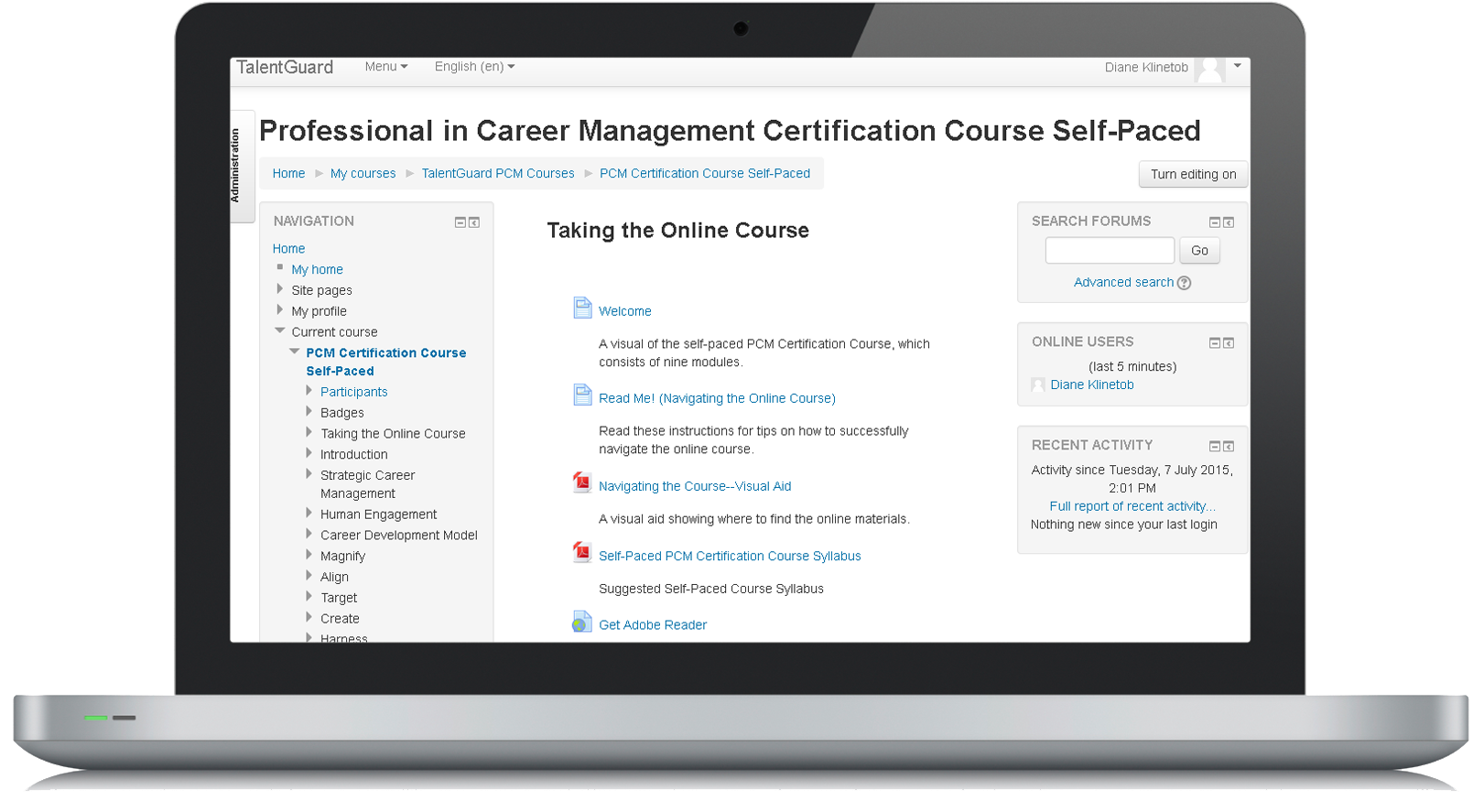 Online Self Paced PCM Certification Course 10023