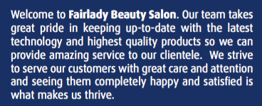 Fairlady Beauty Salon - About