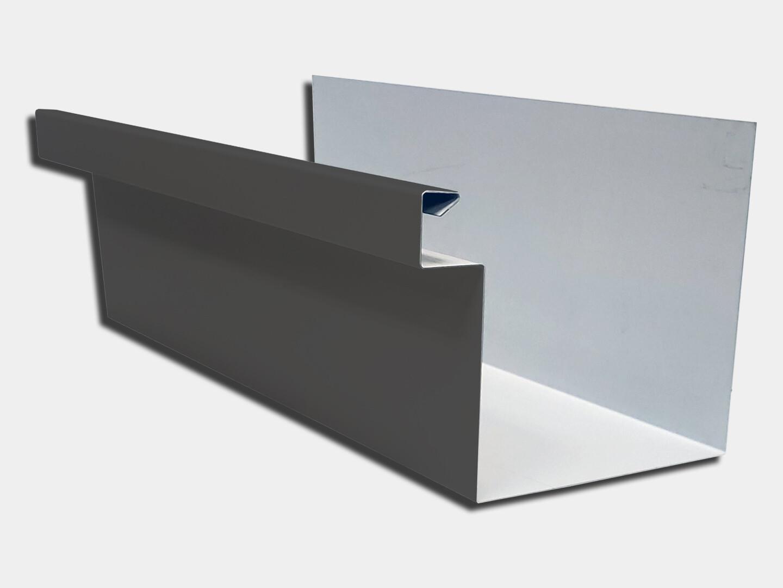 24 Gauge Kynar Steel Commercial Box Gutter K Amp M Supply