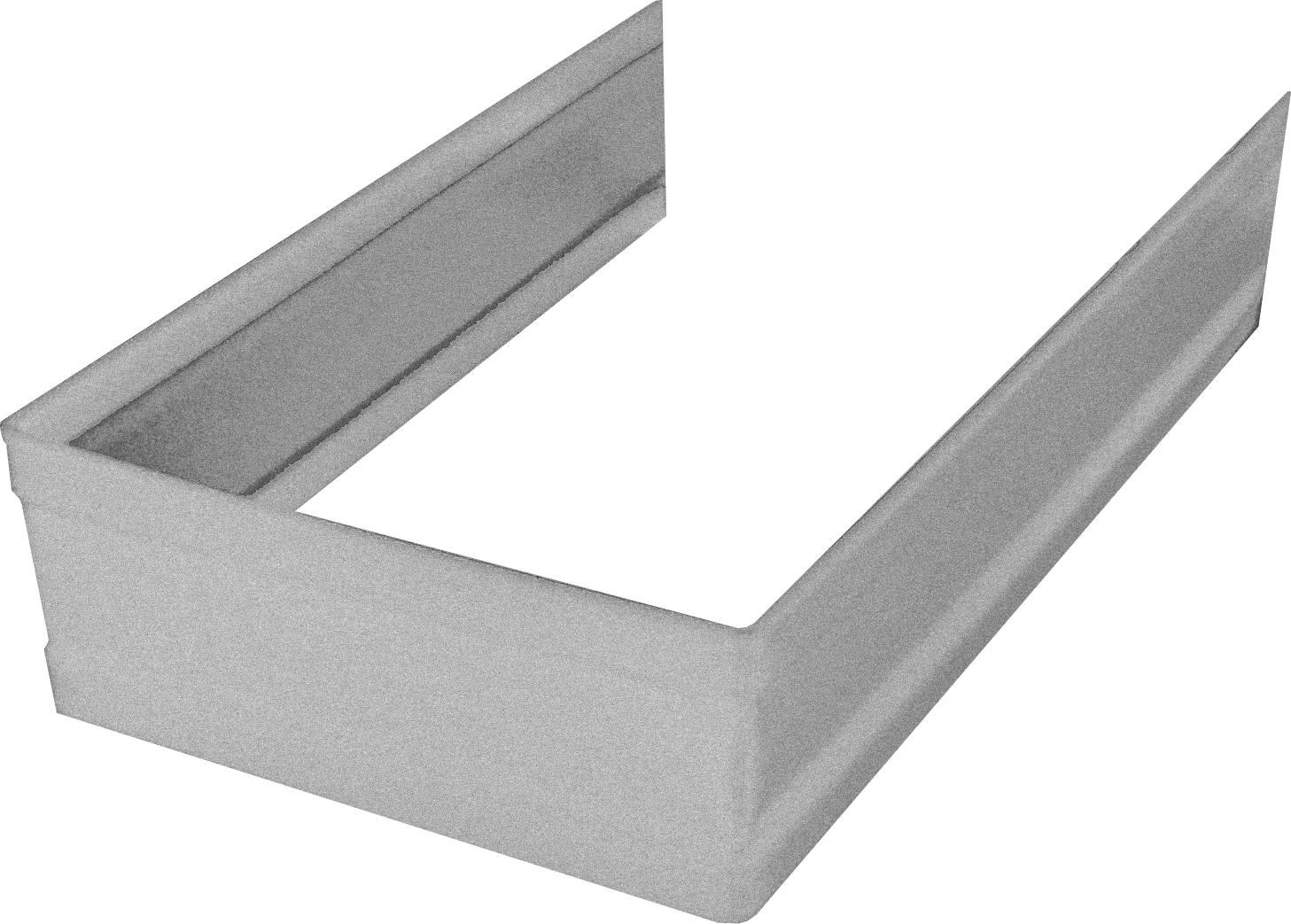 Galvalume Standard Square Downspout Strap
