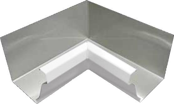 Aluminum 027 K Style 90 Degree Inside Miter