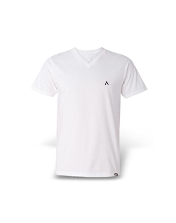 T-Shirt V White