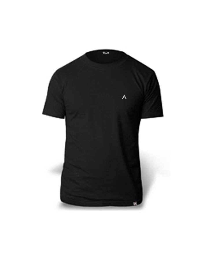 T-Shirt Crew Black