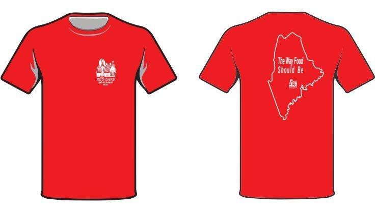 Red Barn Short-Sleeved T-shirt 00004