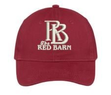 Red Barn Hat (Red- Design #1) 10