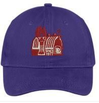 Red Barn Hat (Purple- Design #3) 13