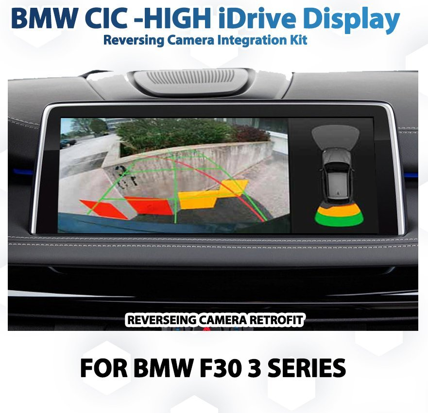 BMW F30 3 Series Back Up Rearview Reversing Camera