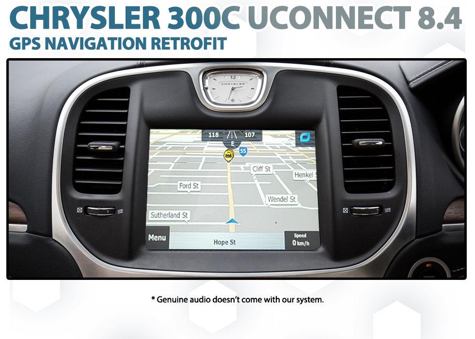 2011 Current Chrysler 300c Second Gen Genuine Gps