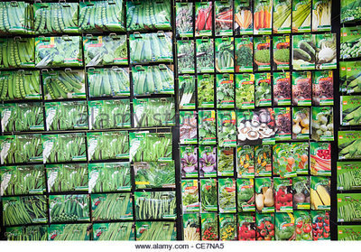 3 packets of vegetable seeds