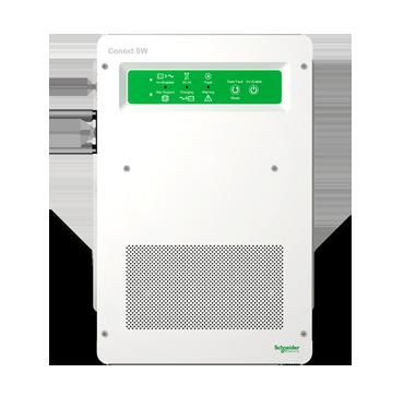 Schneider SW with lithium Ion batteries