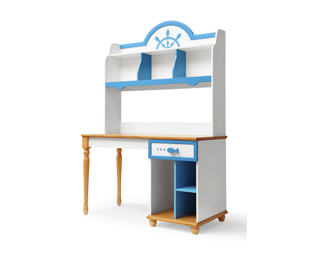 Ofix Azariah Bedroom Bookcase Desk Chair not included ...