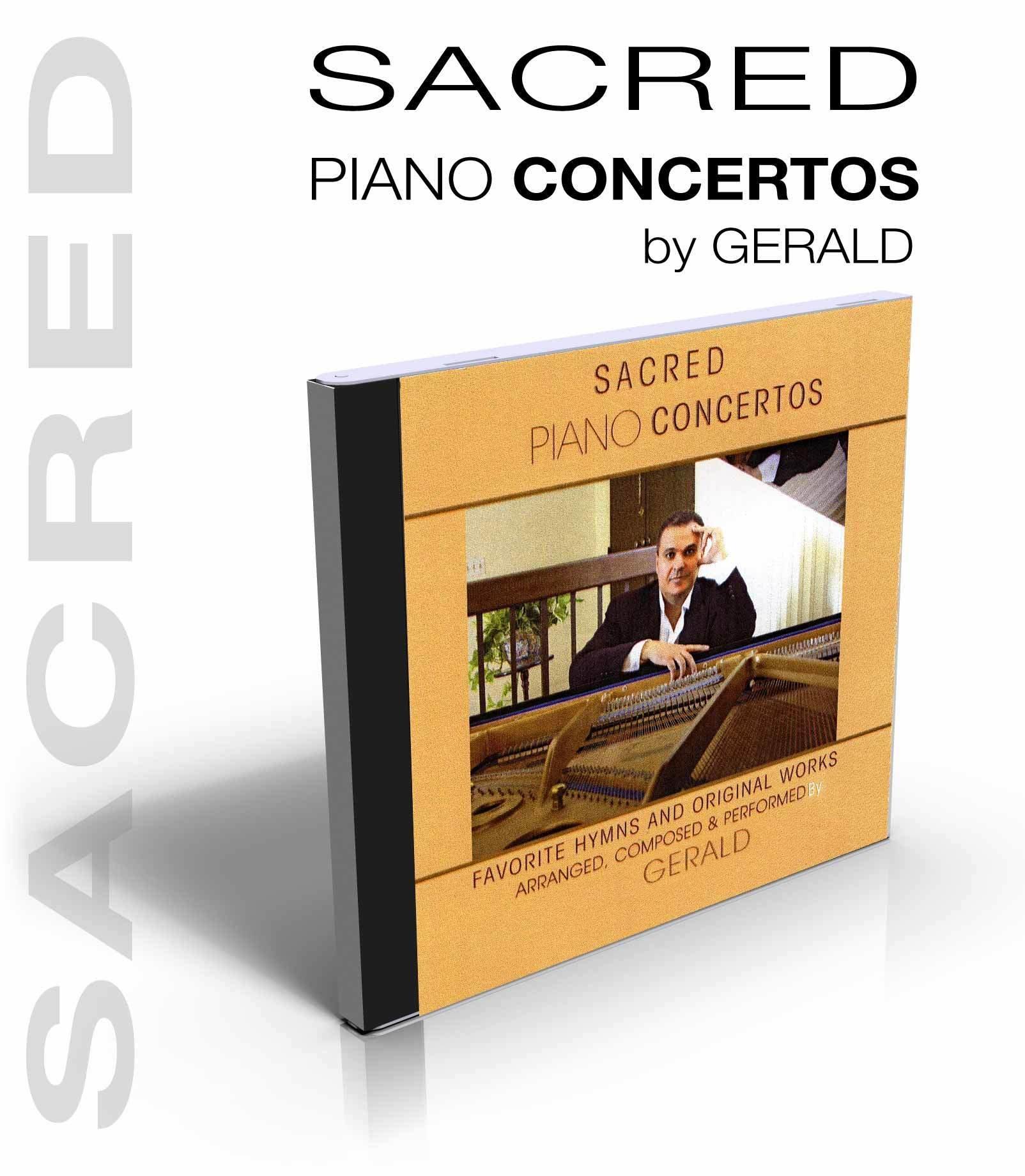 Sacred Piano Concertos by Gerald 00002