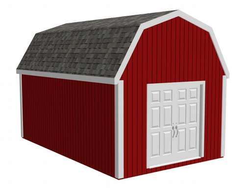 Gambrel Barn Shed Plans