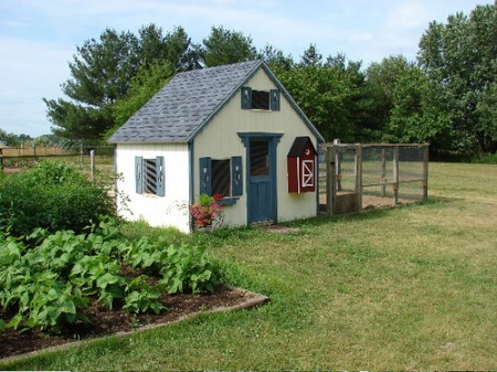 G489 12 x 12 x 8 Garden Shed Chicken Coop Play G489