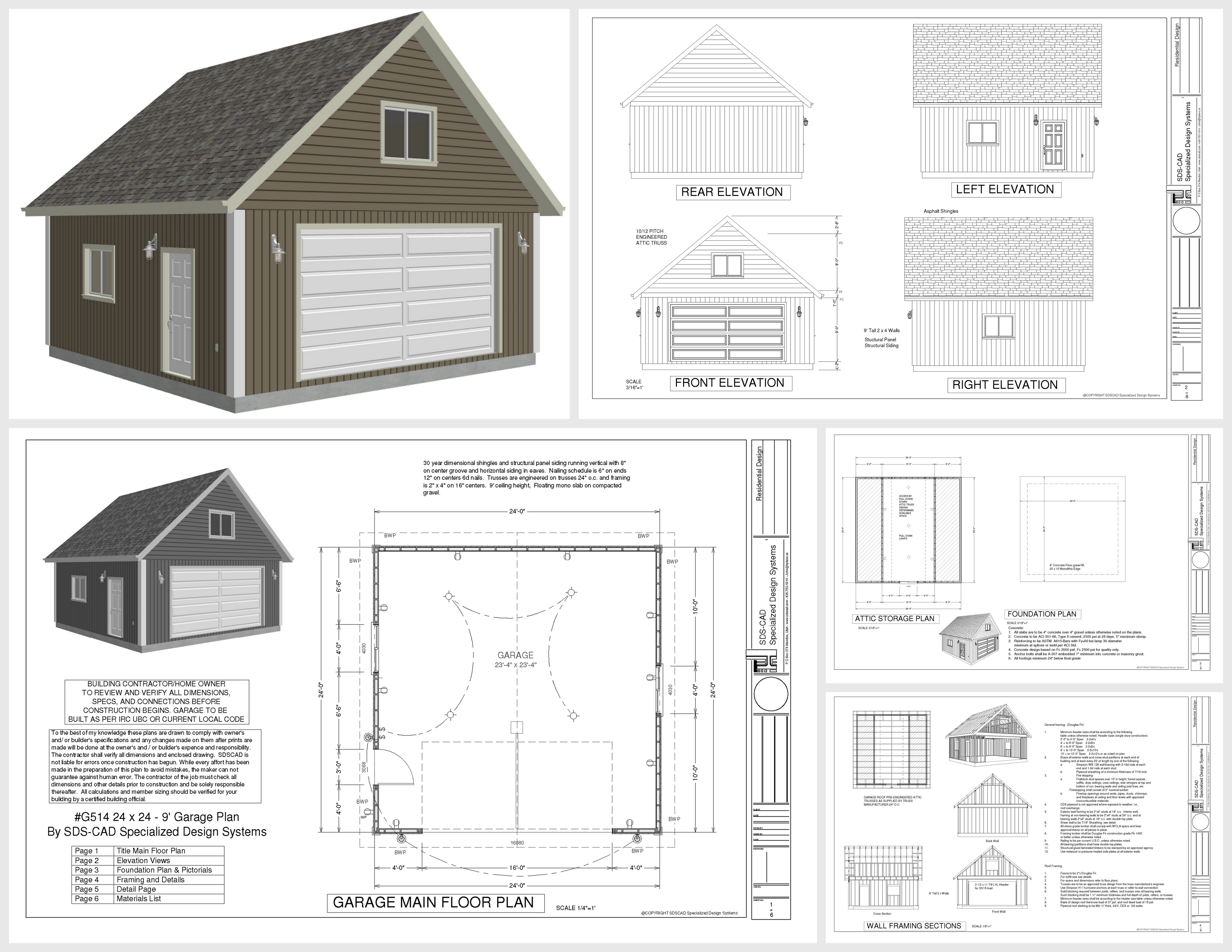 Loft guest house plans for Garage designs with loft