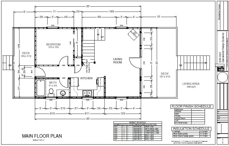 Hunting cabin plans pdf woodworktips for Hunting cabin house plans