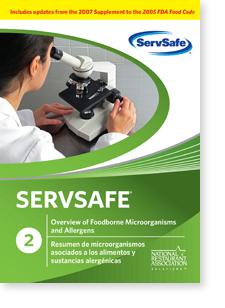 ServSafe®Overview of Foodborne Microorganisms and Allergens DVD 00023