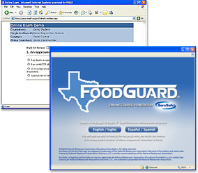 Texas FoodGuard® Online Course and Certificate Examination 00052