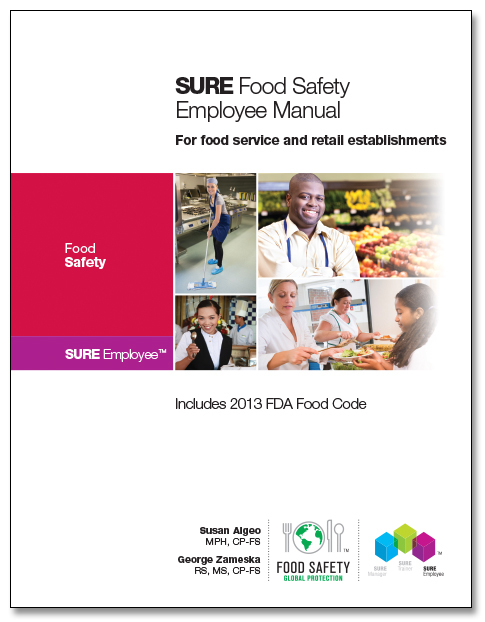 SURE™ Food Safety Employee Manual 00120