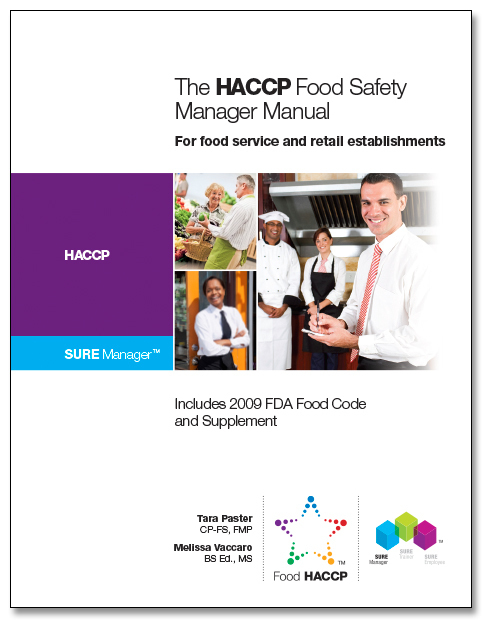 SURE™ HACCP Food Safety Manager Manual 00123