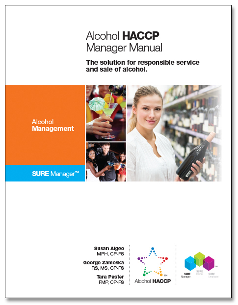 SURE™ Alcohol HACCP Manager Manual 00126