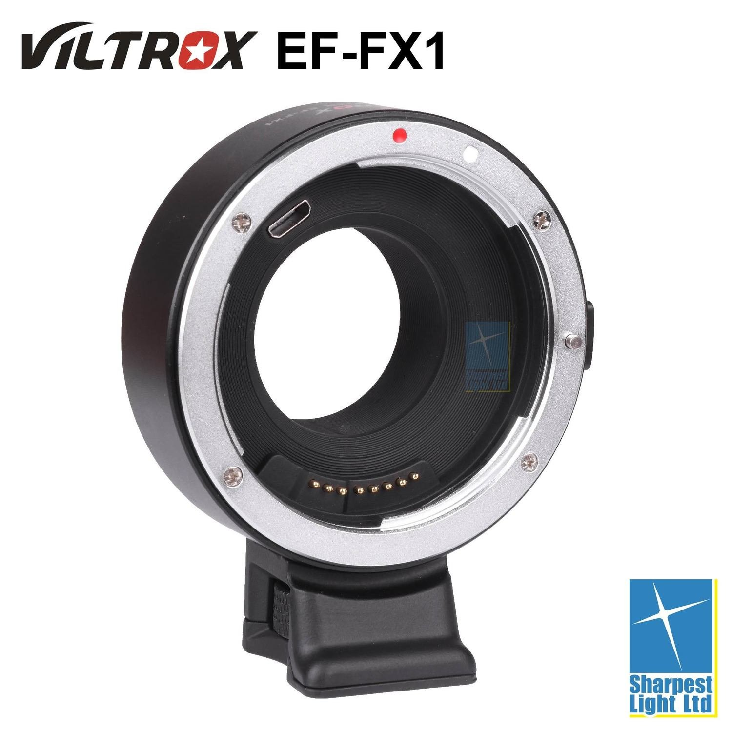 Viltrox EF-FX1 Electronic Adapter for Canon Lens to Fuji X Mount Camera
