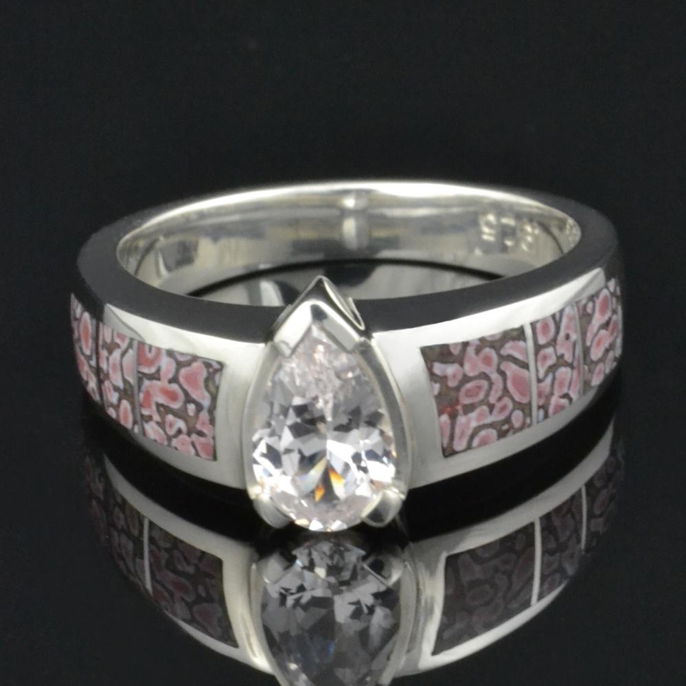 shop dinosaur bone rings by hileman silver jewelry - Dinosaur Bone Wedding Ring