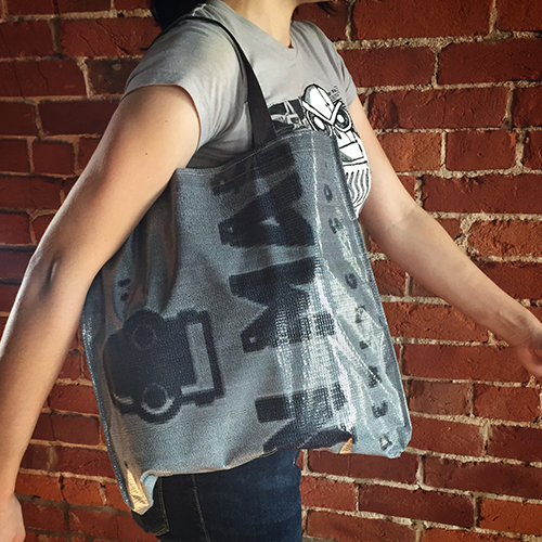 Upcycled Growler Tote 00014