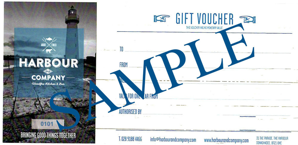 Harbour & Company £70 Voucher 00037