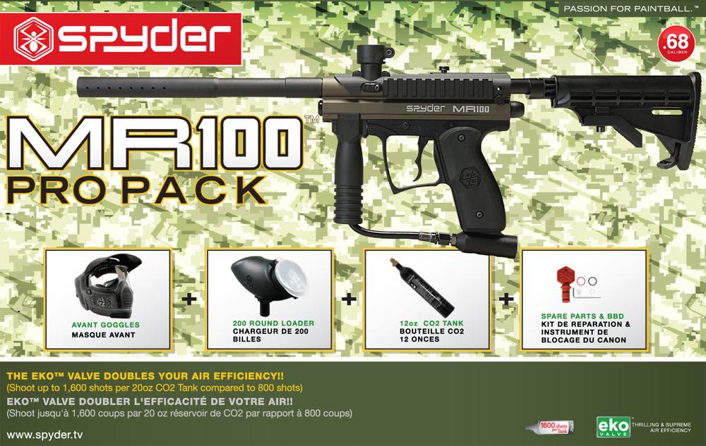 MR100 PRO Pack (Olive Green)