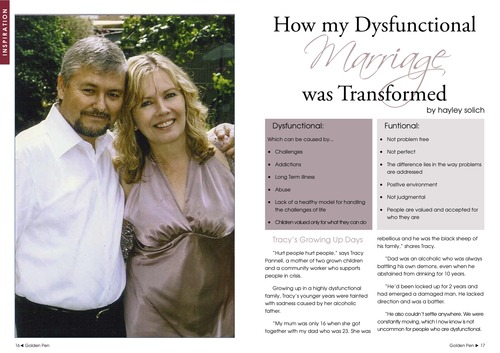 Issue 3 - Tracy Pannell - How My Dysfunctional Marriage Was Transformed 00012