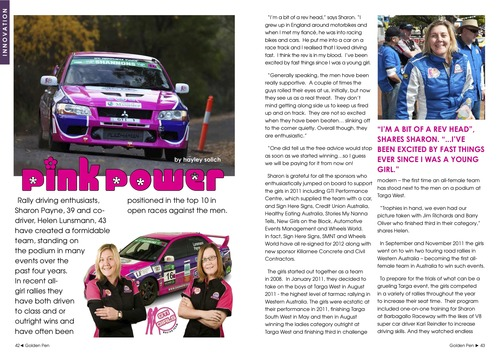 Issue 3 - GTI Racing Girls - Pink Power! 00017