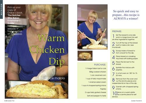 Issue 3 - Grace Maiolo - Warm Chicken Dip 00024